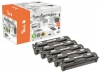 Peach Spar Pack Plus Tonermodule kompatibel zu  HP No. 128A