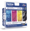210652 - Original Valuepack Tinte  HY, schwarz, color LC-1100VALBP Brother
