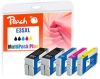 320439 - Peach Spar Pack Plus Tintenpatronen XL kompatibel zu No. 35XL, T3591*2, T3592, T3593, T3594 Epson