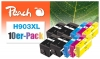 320856 - Peach 10er-Pack Tintenpatronen kompatibel zu No. 903XL HP